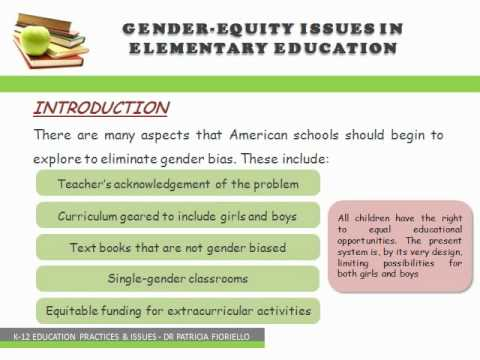 gender equality in the classroom As classroom teachers we have an ideal opportunity to encourage gender equality and respectful relationships in our classroom through very simple but effective practices.
