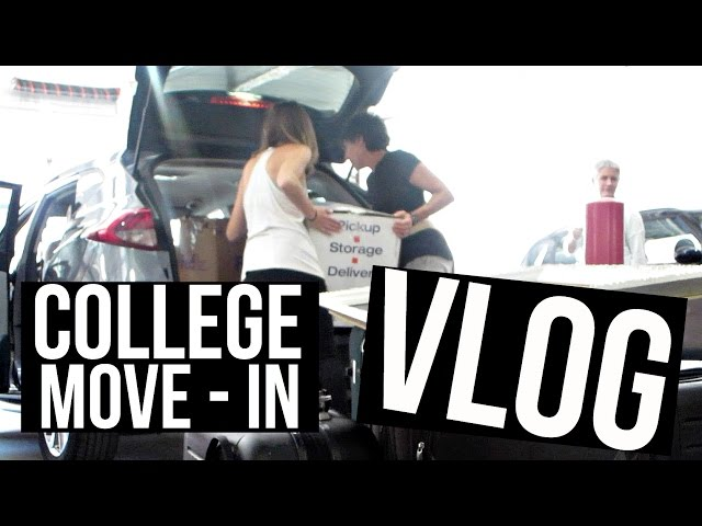 Moving into College // VLOG