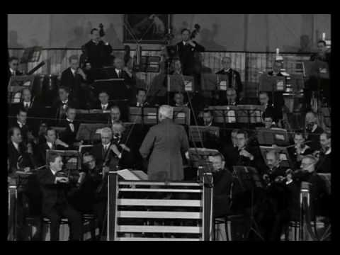 Elgar conducts Pomp and Circumstance March no1