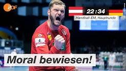 Österreich - Deutschland 22:34 - Highlights | Handball-EM 2020 - ZDF