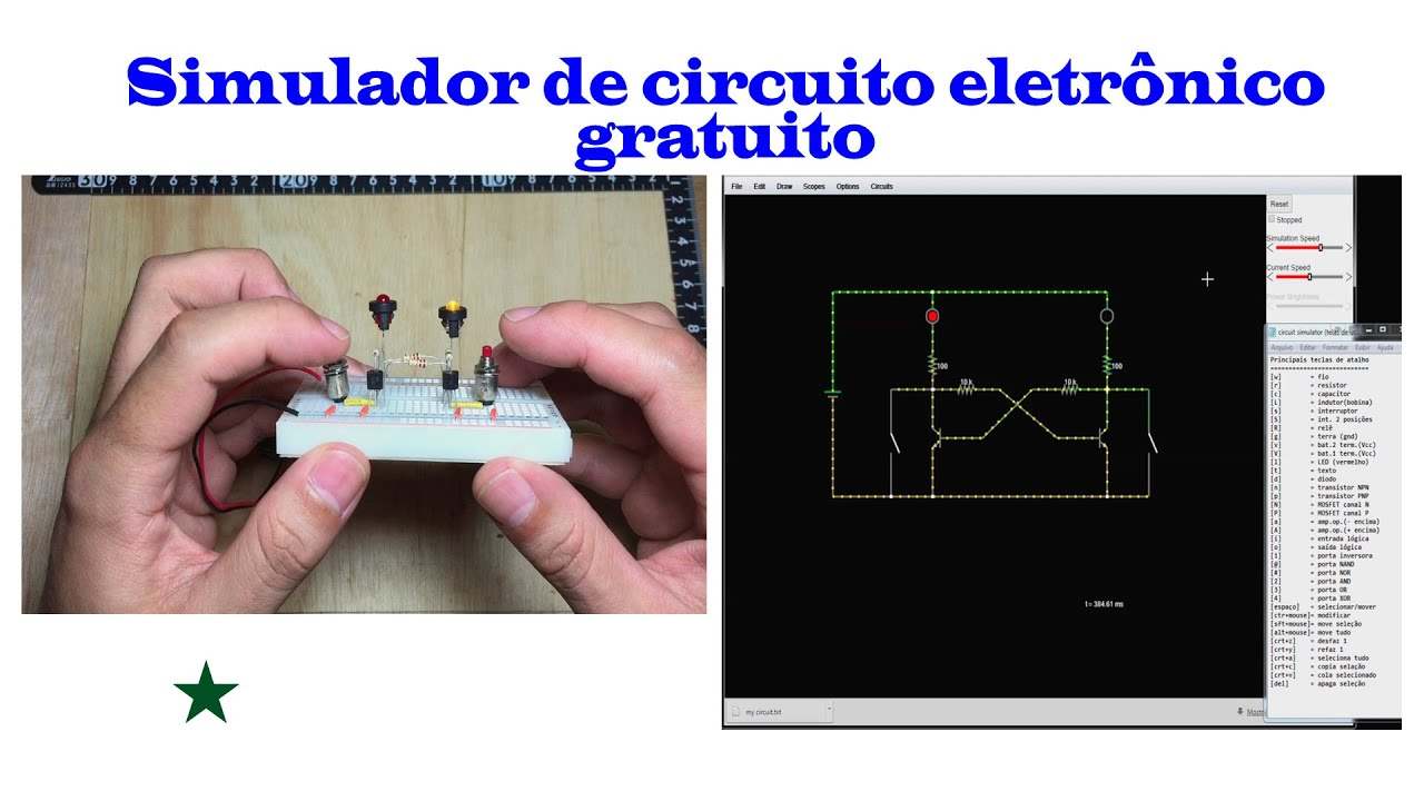 Circuito Eletronica : Simulador de circuito eletrônico gratuito youtube