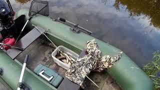 Наша рыбалка. Река Шоша, он позвал мамку!