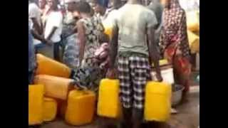 WATER SHORTAGE WOES IN PARTS OF ACCRA, GHANA.