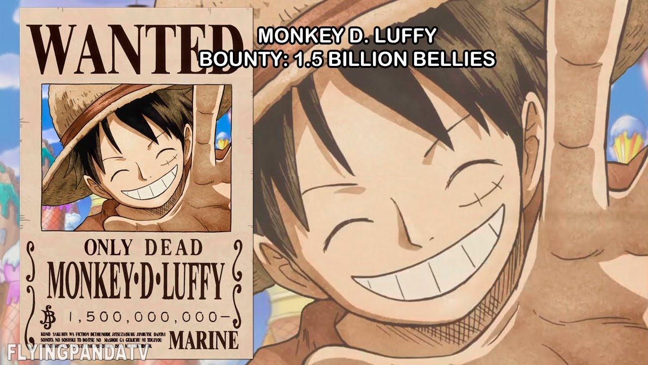 Zoro wanted to buy 2 swords in loguetown for 100k beli or $500 usd each (which would be cheapest swords) but his white sword was worth ~28m beli or usd $280k. 1 5 Billion Luffy S Shocking New Bounty After Whole Cake Island Confirmed One Piece Ch 891 Youtube