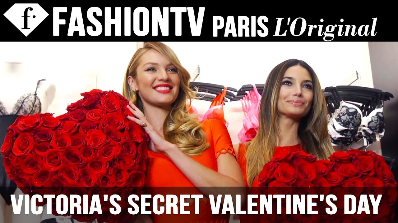 e618357ebcd Victoria s Secret Valentine s Day Gift Picks ft Candice Swanepoel ...