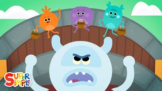 The Three Bumble Nums Gruff | Cartoon For Kids