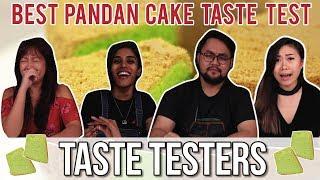 Best Pandan Chiffon Cake in Singapore   Taste Testers   EP 45