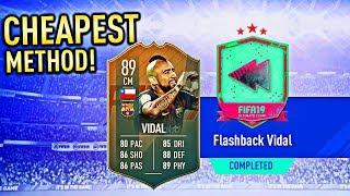 FLASHBACK ARTURO VIDAL SBC – CHEAPEST METHOD!!! (FIFA 19)