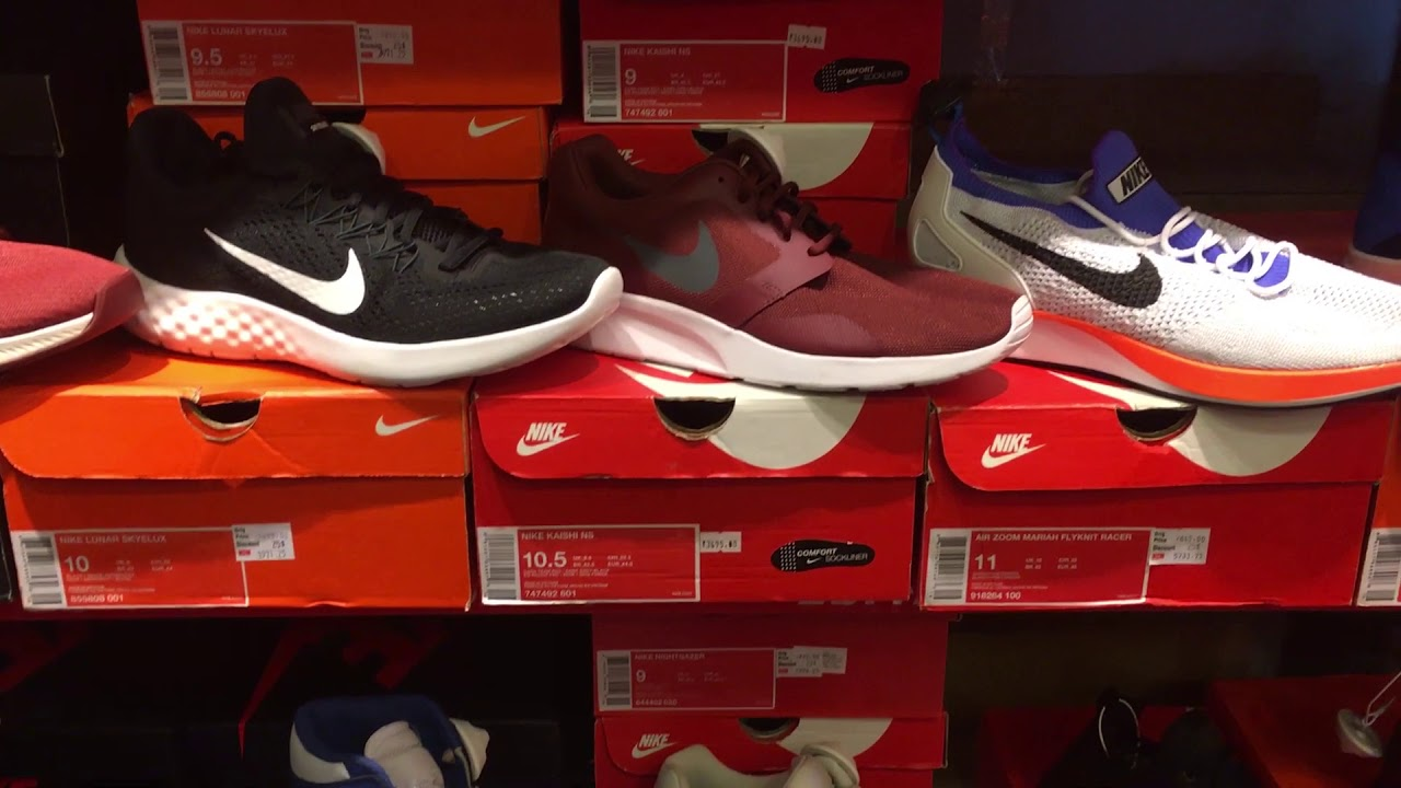 These are the shoes I bought at the Nike Factory Store