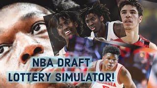 NBA Draft Lottery Simulator - (NBA Draft Lottery 2020)