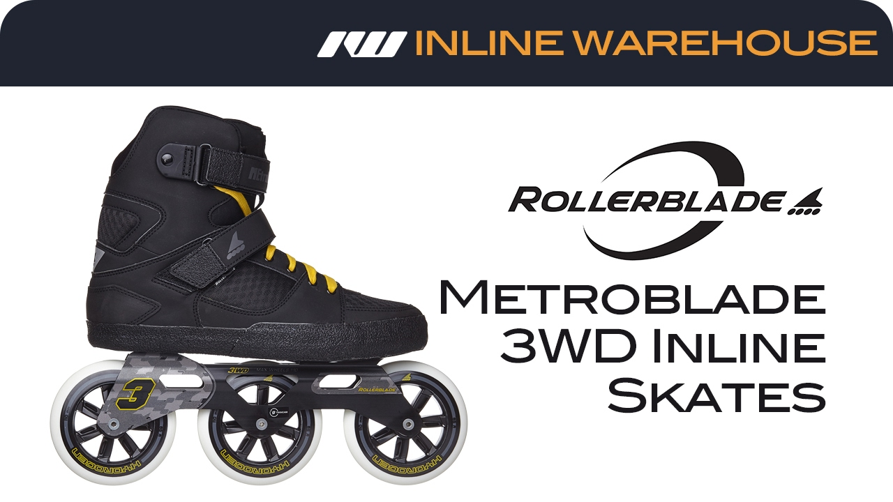 2017 rollerblade metroblade 3wd skates review youtube