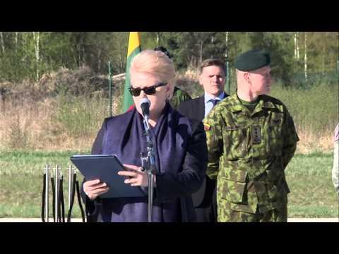 U.S Army - Lithuanian President Dalia Grybauskaitė Speech
