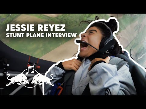Jessie Reyez Stunt Plane Answering Questions | Interview | Red Bull Music