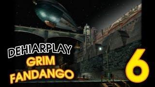 Живём за гранью смерти в Grim Fandango - 6 серия