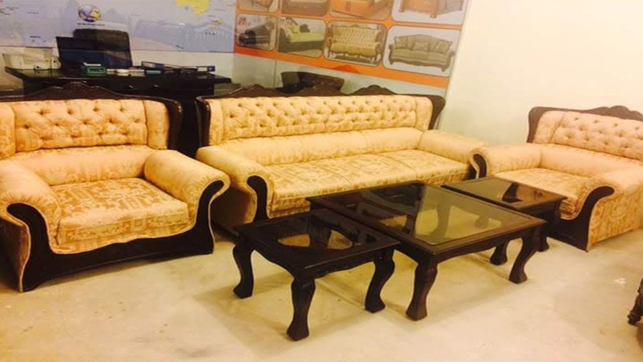 Sofa Set Designs With Price In Pakistan Youtube