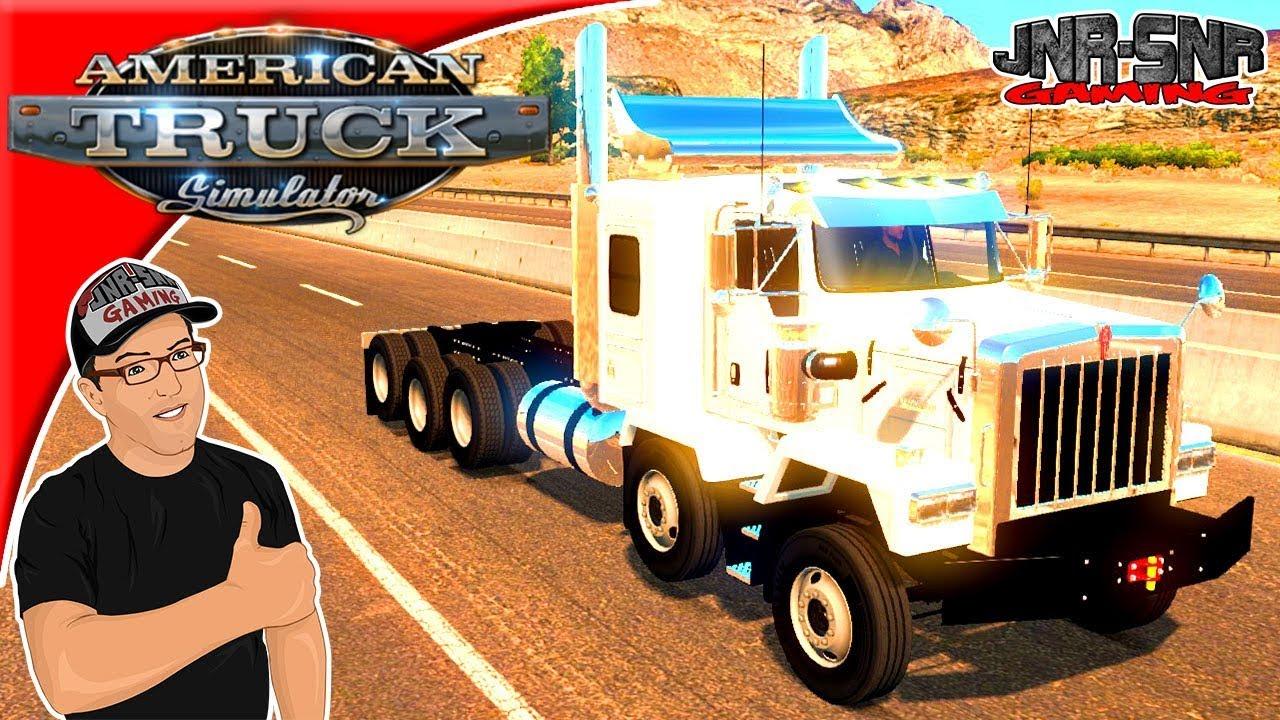 American Truck Simulator Mods Kenworth C500 Mod Review