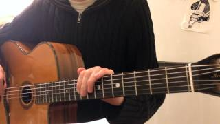 A Song for You (Donny Hathaway) – Guitar lesson (part 4)