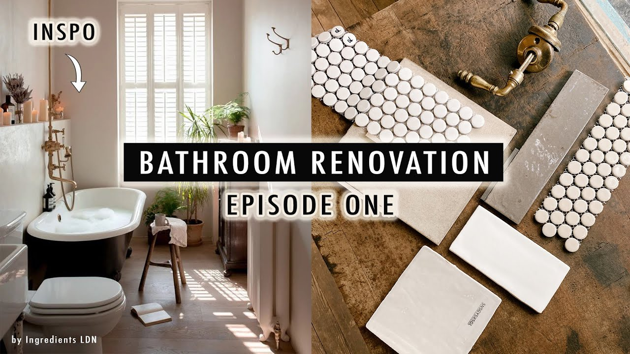 BATHROOM RENOVATION EP1: Thrifted Vanities, Sinks, Faucets, Tile + MORE!    XO, MaCenna