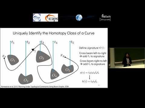 "ICAPS 2018: Vinitha Ranganeni on ""Effective Footstep Planning for Humanoids Using ..."""