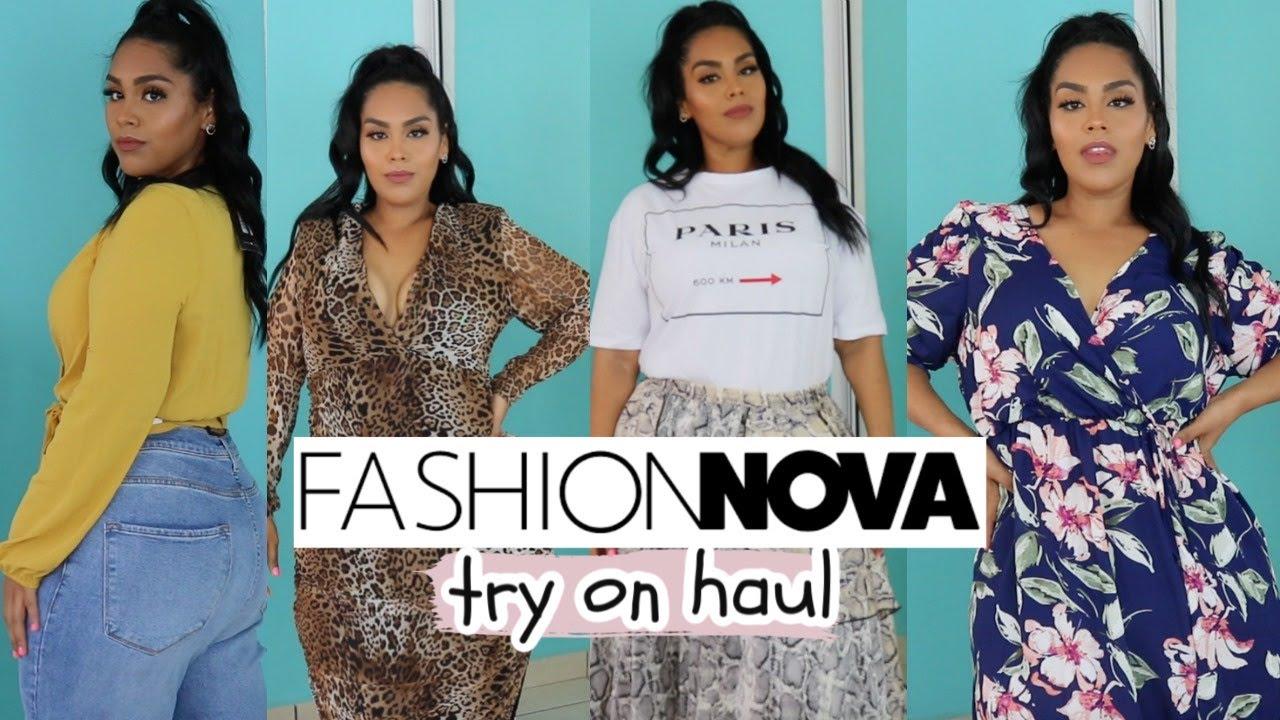 Summer Fashion nova curve TRY ON HAUL | plus size clothes| ROPA MODERNA PARA GORDITAS