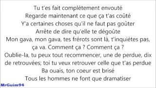 Black M - French Kiss [ Paroles/Lyrics Only]