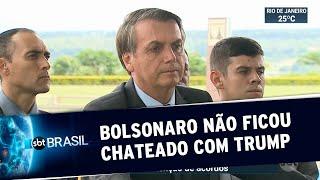 Jair Bolsonaro diz que não ficou decepcionado com Trump | SBT Brasil (04/12/19)