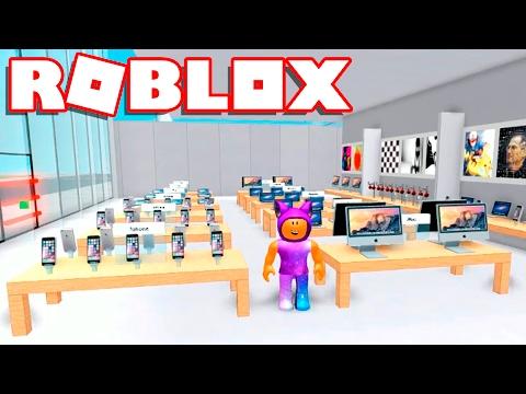 Roblox → FÁBRICA E LOJA DA APPLE !! - Apple Store Tycoon 🎮