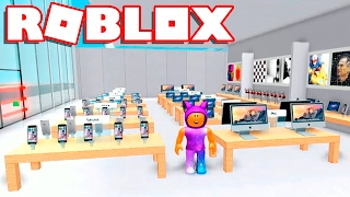 Roblox → FACTORY and APPLE STORE!! -Apple Store Tycoon 🎮