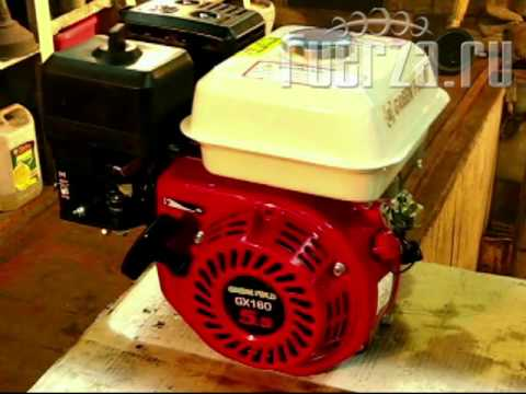 Обкатка двигателя greenfield 170EF - YouTube