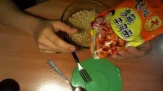 обзор на китайскую лапшу + Настоящий импортный соевый соус