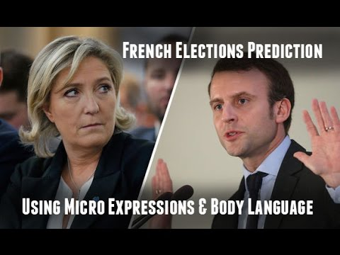 French Elections Prediction using MICRO EXPRESSIONS and BODY LANGUAGE - Macron wins from Le Pen