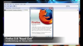 Phoenix 0.1 bis Australis - Das Firefox-Design im Wandel der Zeit
