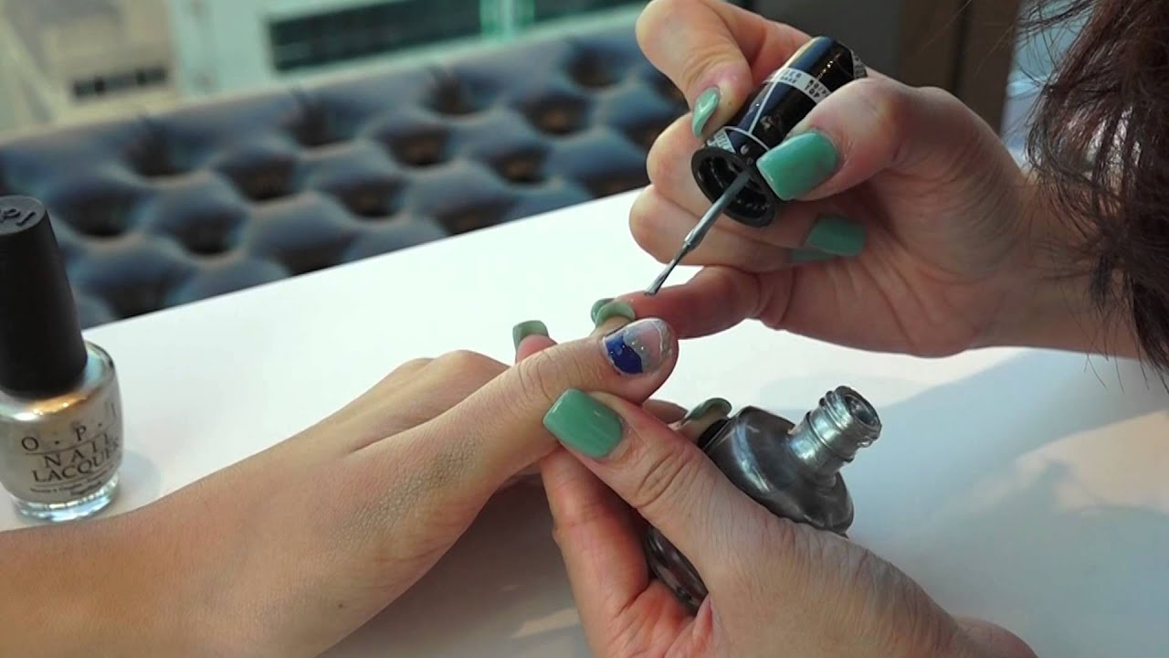 TIGI by IL COLPO】On-trend Nails for Fall Winter 2015 - YouTube