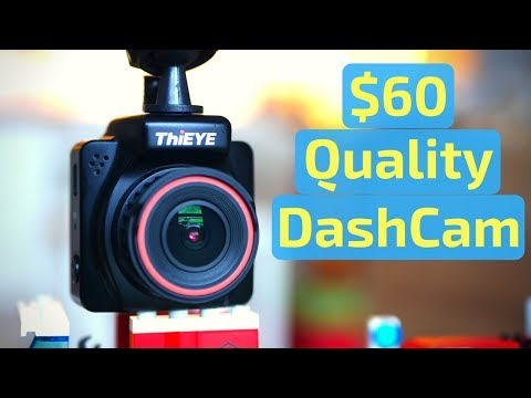 ThiEye Safeel One Dash Camera - Unboxing, Review And Tests