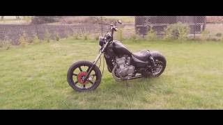 Repeat youtube video Kawasaki Vulcan 500 Bobber