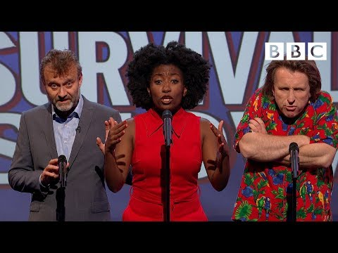 Unlikely things to hear in a survival show | Mock The Week - BBC