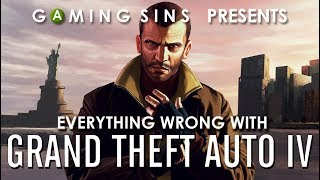 Everything Wrong With Grand Theft Auto IV (GTA 4) in 11 Minutes or Less | GamingSins