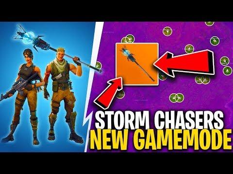 *NEW* STORM CHASER GAMEMODE!! ( Popular Fortnite Update Idea! )