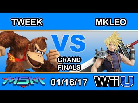 MSM 81 - Tweek (Donkey Kong) Vs  Echo Fox | MkLeo (Cloud) Grand Finals -  Smash Wii U
