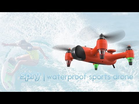 Yes your drone can fly, but can it swim underwater??
