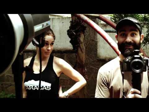 POSTALES DE CARACAS: Sesión de fotos con Luis Boza