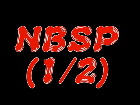NBSP vol.1(part 1)