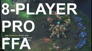 Pro FFA! TvTvZvTvPvZvZvP - StarCraft 2 - Legacy of the Void 2018