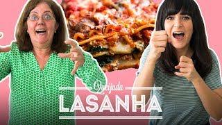 LASANHA COM MASSA FRESCA CASEIRA | TODO MUNDO CONTRA DANI feat. TIA JÔ | DANI NOCE RECEITA thumbnail
