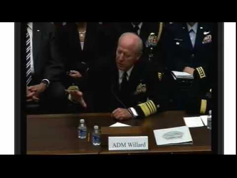 "HASC - Q&A with Admiral Robert F. Willard and General Walter ""Skip"" Sharp"