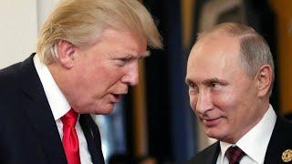 Путин и Трамп встретились в Хельсинки
