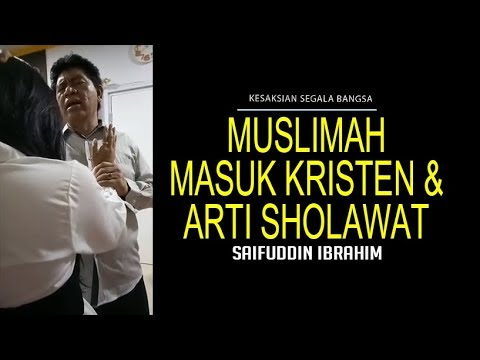 Muslimah Tobat & Arti Sholawat - Saifuddin Ibrahim | Terbaru 2017