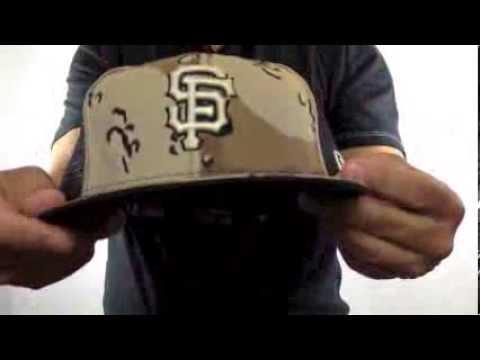 21495593da SF Giants  DESERT STORM MESH-BACK  Fitted Hats by New Era - YouTube