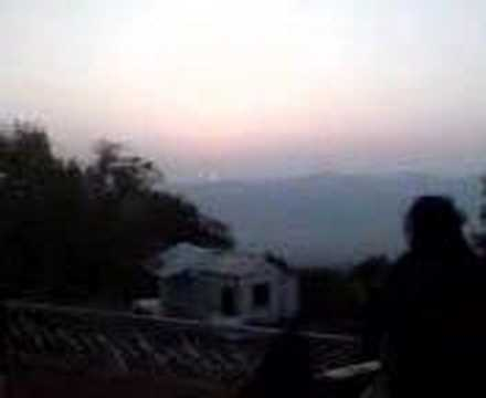 Sunrise at Jampui