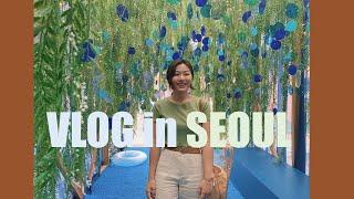 ??일년만에 서울에서 가족, 친구랑 보낸 날들 (도산공…